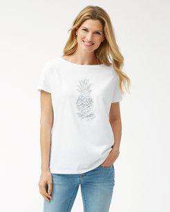 Piña-Coolita Embellished T-Shirt