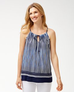 Marina Stripe Halter Top