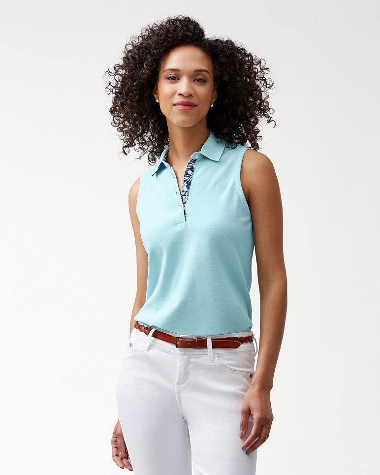 Main Image for Paradise Sleeveless Garment-Dyed Polo