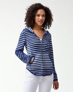 Villa Lines Full-Zip Sweatshirt