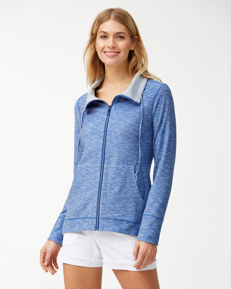 Main Image for Beachy Reversible Full-Zip Performance Sweatshirt