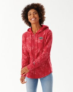 NFL Basta Blossoms Full Zip Sweatshirt