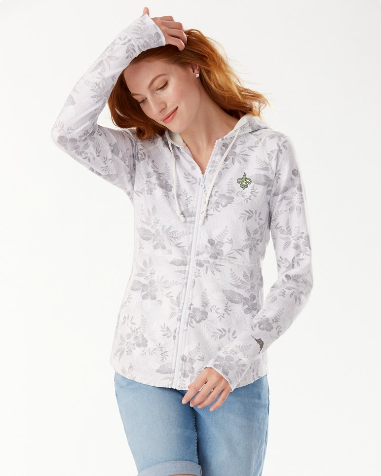 Main Image for NFL Basta Blossoms Full Zip Sweatshirt
