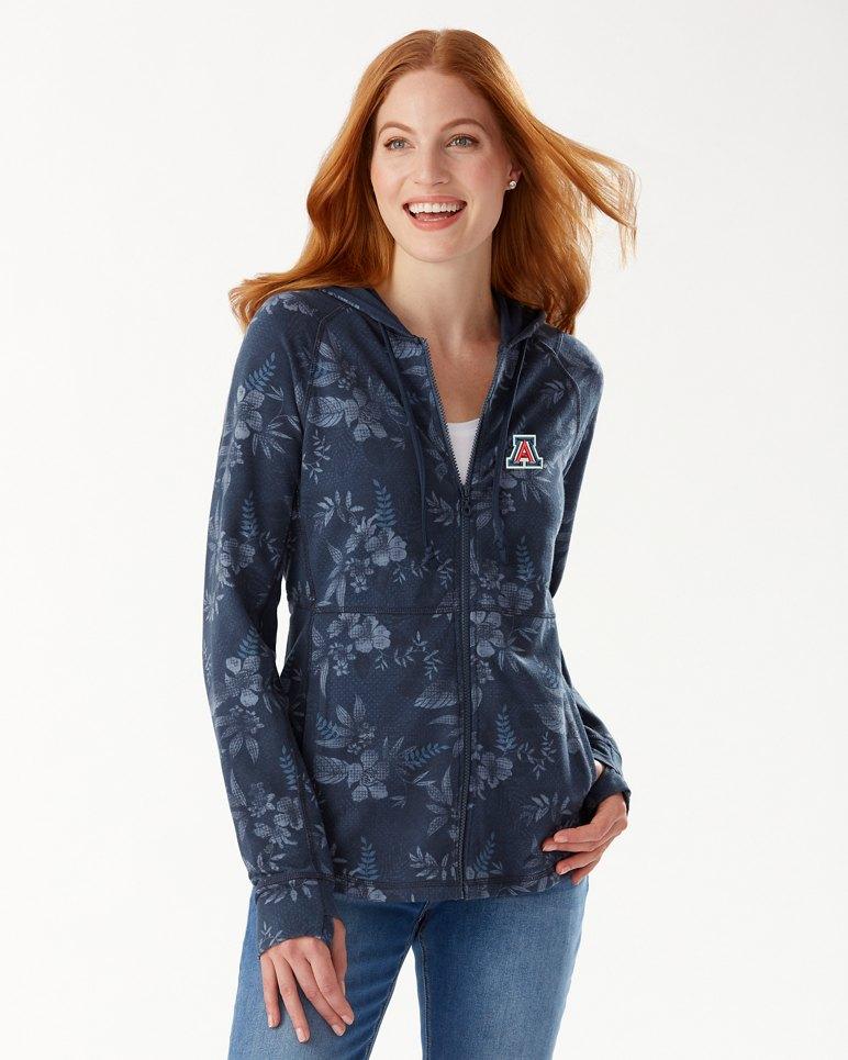 Main Image for Collegiate Basta Blossoms Full-Zip Sweatshirt