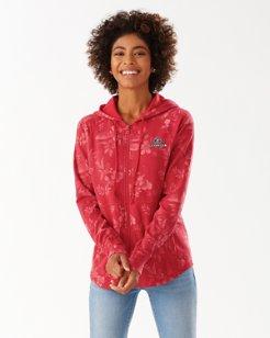 Collegiate Basta Blossoms Full-Zip Sweatshirt