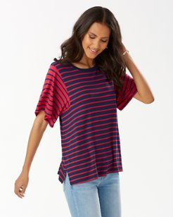 Jovanna Stripe Top