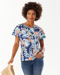 Resort Blooms Top