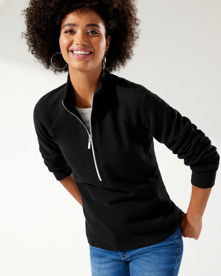 Main Image for The New Aruba Half-Zip Sweatshirt