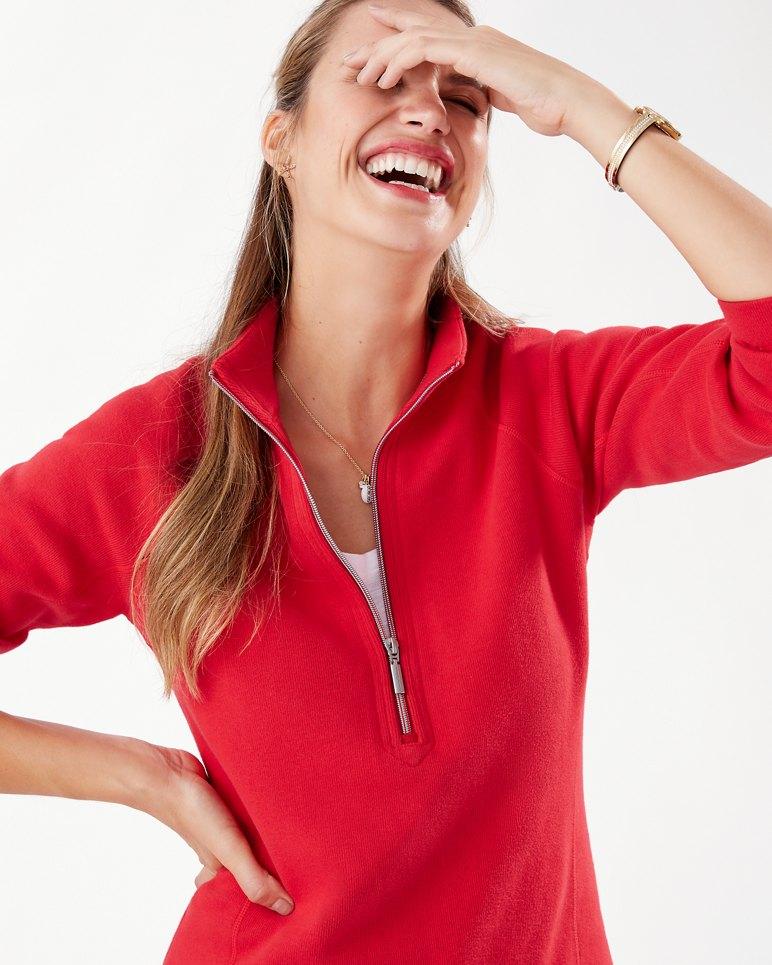 Main Image for The New Aruba Half-Zip Sweatshirt