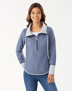 Sun Fade Flipside Half-Zip Sweatshirt