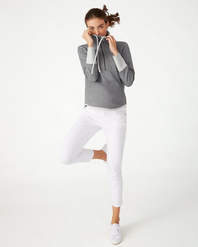 Main Image for Sun Fade Flipside Half-Zip Sweatshirt