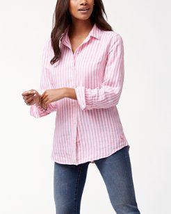 Cabana Stripe Linen Shirt