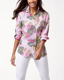 Pineapple Parc Linen Shirt
