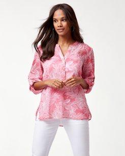 Boulevard Blossoms Gauze Shirt