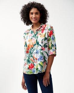 Bonita Botanical Silk Shirt
