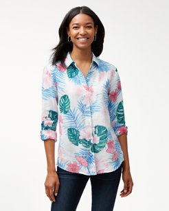 Lily Lei Lei Linen Long-Sleeve Top