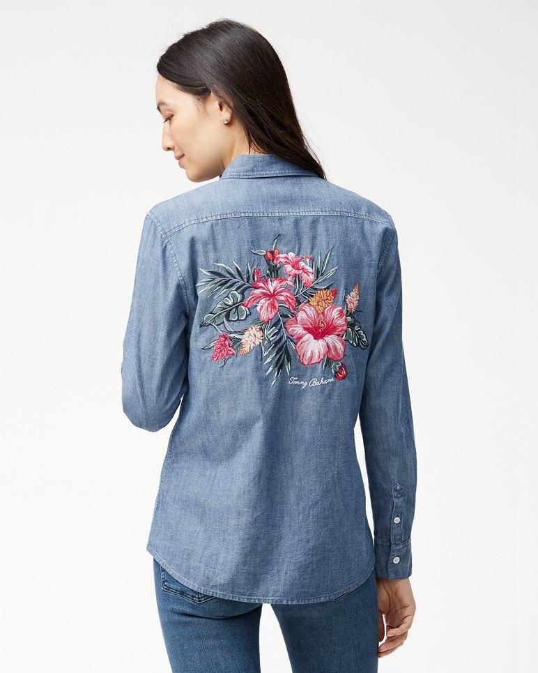Main Image for Casa De Hibiscus Panelback Shirt