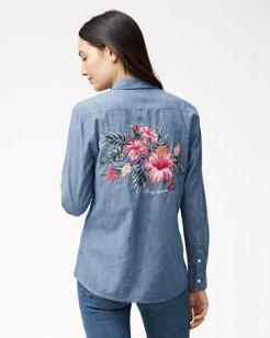 Casa De Hibiscus Panelback Shirt