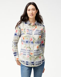 Tommy Bahama & Pendleton® Aloha Harding Long-Sleeve Shirt
