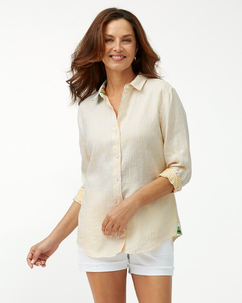 Main Image for Crystalline Waters Linen Shirt