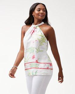 Womens linen resort wear