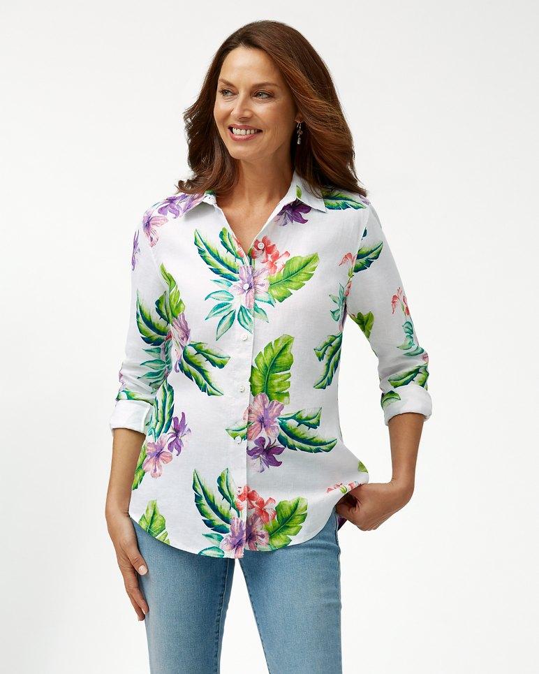 Main Image for Villa Ibisco Toss Linen Shirt