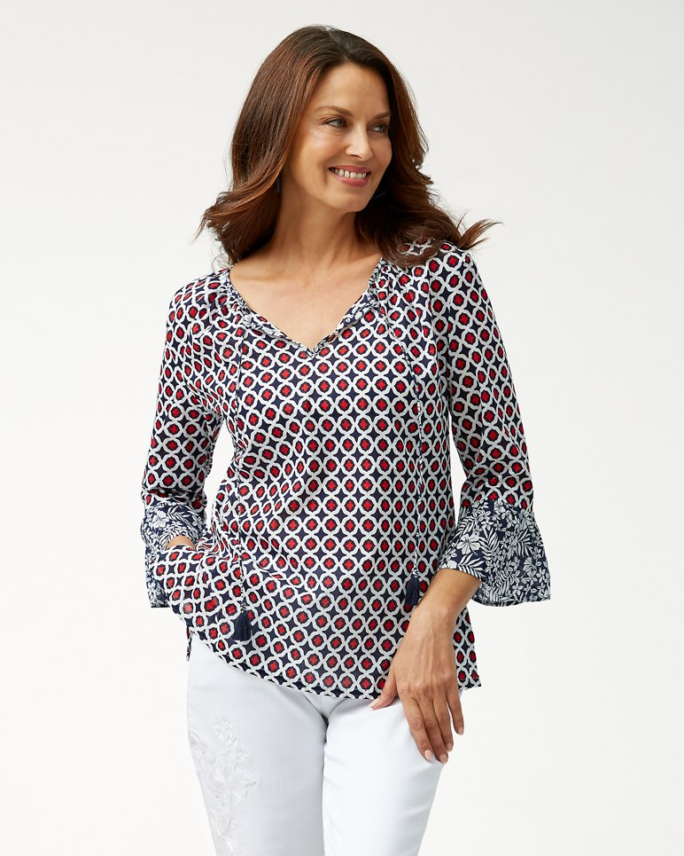Main Image for Gia Geo Floral Tunic