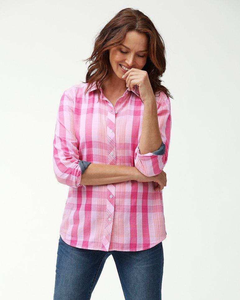 Main Image for Plaid Tai Long-Sleeve Shirt