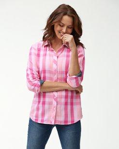 Plaid Tai Long-Sleeve Shirt