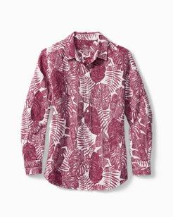 Frondly Fan Linen Shirt