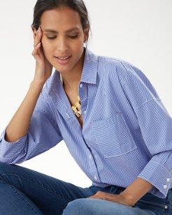 Breezy Bliss Stripe Shirt