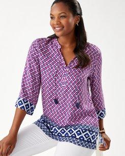 Try An Angle 3/4-Sleeve Tunic
