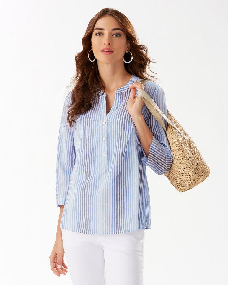 Main Image for Simona Sands 3/4-Sleeve Top