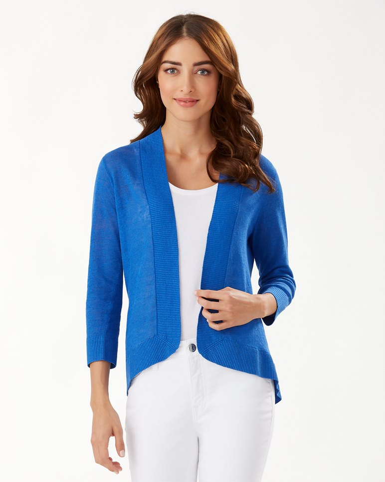 Main Image for Lea Open Linen Cardigan