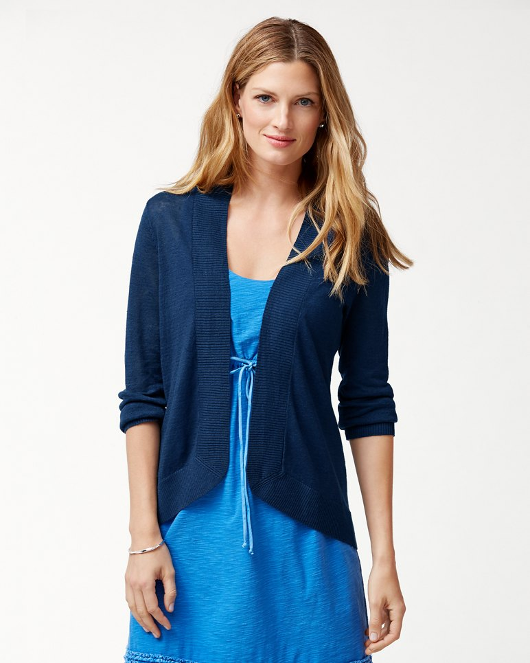 7ded3864860f2 Main Image for Lea Open Linen Cardigan