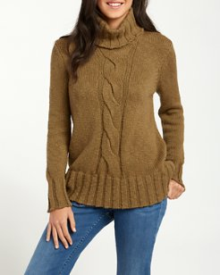 Luna Bay Cable Turtleneck