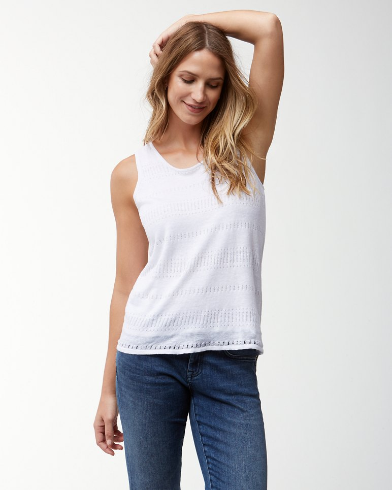 768a786c4d1ab Main Image for Lea Linen Tank Sweater
