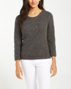 Sunstone Sequined Pullover Sweater