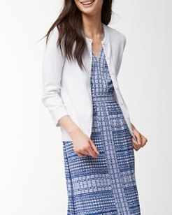 Paradise Pima Dress Cardigan