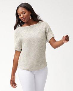 Paradise Sun Textured Sweater