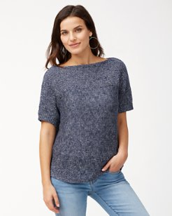 Paradise Sun Textured Sweater
