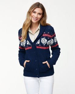 Tropical Fairisle Cardigan