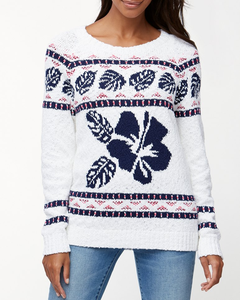 Main Image for Tropical Fairisle Pullover Sweater