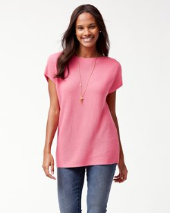 Pickford Ribbed Short-Sleeve Sweater