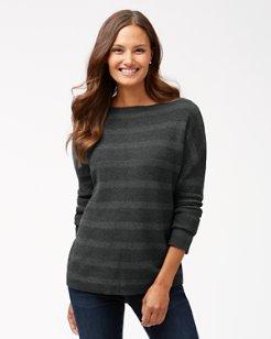 Pickford Lurex Stripe Pullover