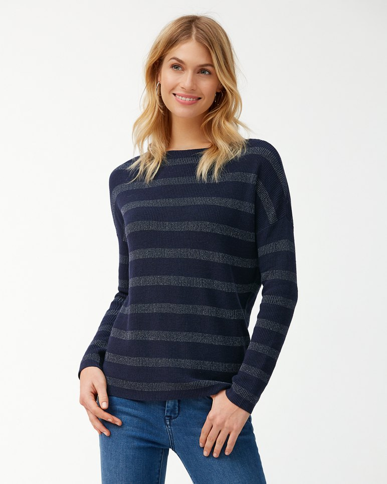 Main Image for Pickford Lurex Stripe Pullover