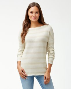 Pickford Lurex Stripe Pullover