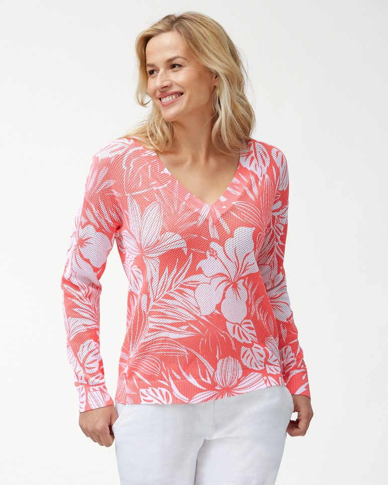 Main Image for Mahana Open V-Neck Sweater