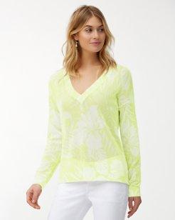 Mahana Open V-Neck Sweater