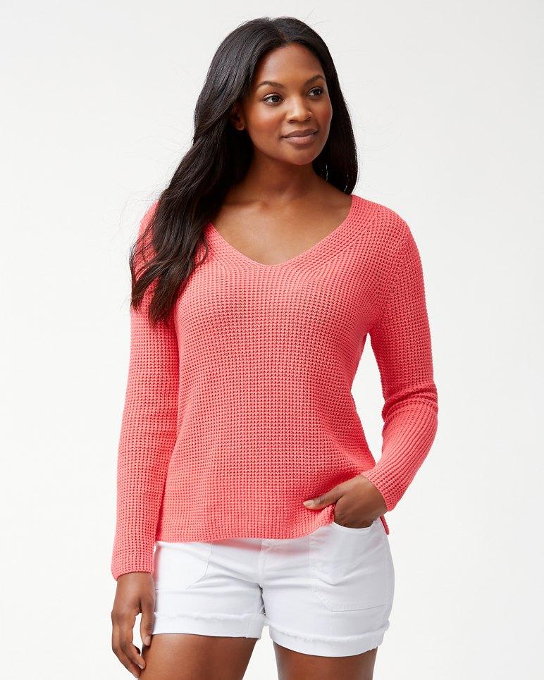 816118c4dbfec Main Image for Cabana Cotton V-Neck Sweater